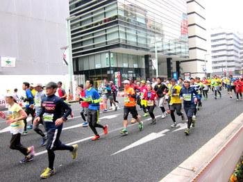 東京マラソン2015 東京がひとつになる日。