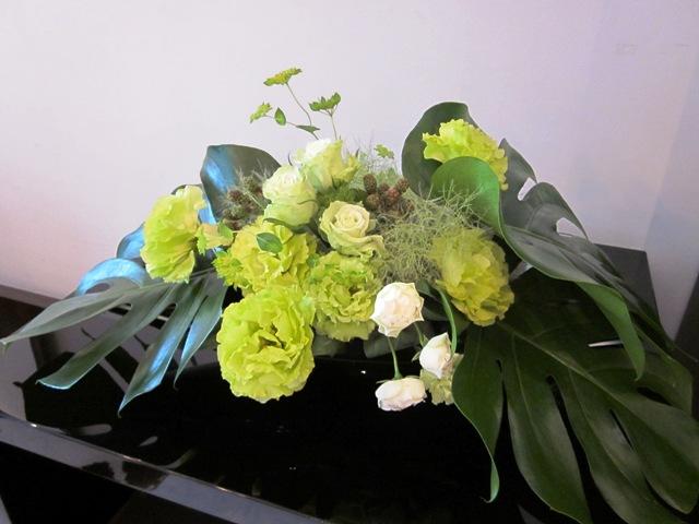生花の展示会
