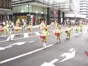 パレードがはじまりました!