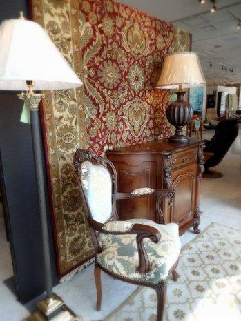 クラシックスタイル家具フェア ラグ・ランプ