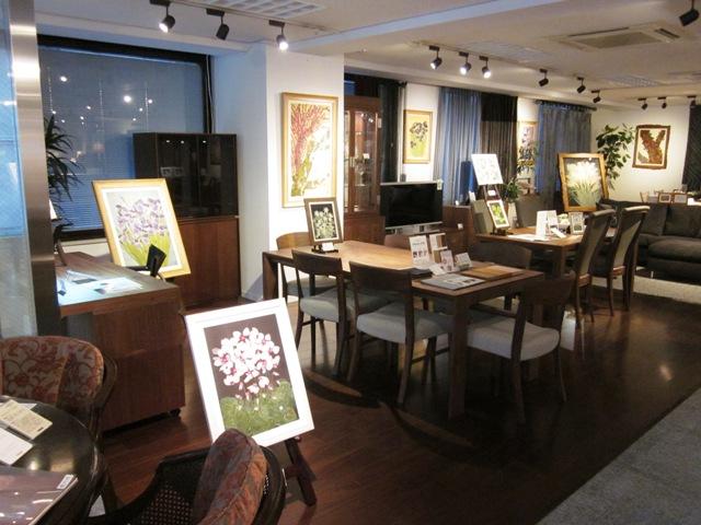 『庄村昌子の押し花展』開催中です