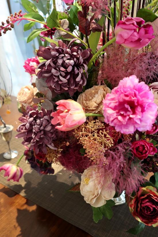 ベルフルールのお花で華やかに・・・