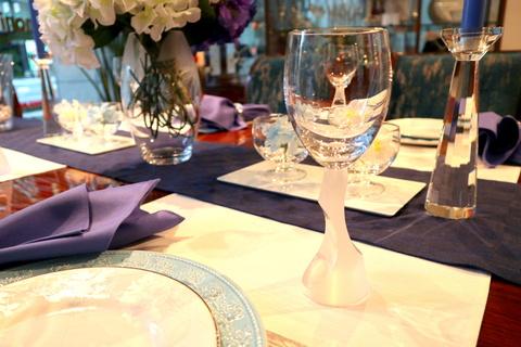 今月のテーブルコーディネート《入梅~雨の日のおもてなし~》